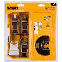 DeWALT rinkinys Multitool 20701x2+20704+20714+20711