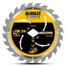 DeWALT DT40270 pjovimo diskas medienai 190x1,55 mm T24