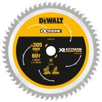 DeWALT pjovimo diskas medienai 305 mm T60 FLEXVOLT