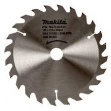 Makita pjovimo diskas medienai 165 mm T24