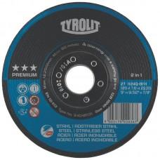 Tyrolit šlifavimo diskas 125x7 mm