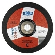 Tyrolit A 30 BF INOX šlifavimo diskas plienui 125x6 mm