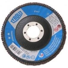 Tyrolit P80 vėduoklinis šlifavimo diskas plienui 125 mm