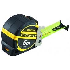 STANLEY FatMax matavimo ruletė 5 m 32 mm ryški + antgalis