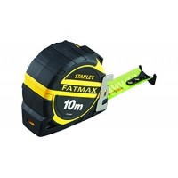 STANLEY FatMax matavimo ruletė 10 m 32 mm ryški + antgalis