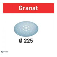 FESTOOL Granat STF šlifavimo popierius glaistui P180 225 mm (25 vnt)