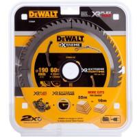 DeWALT pjovimo diskas medienai 190x30 mm