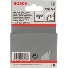 BOSCH kabės 11.4x14 mm 53 tipas 1000 vnt.