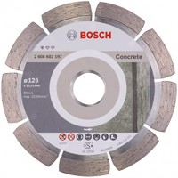 BOSCH Standard for Concrete deimantinis pjovimo diskas 125 mm
