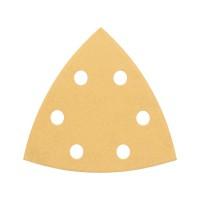 BOSCH Delta šlifavimo popierius medienai K60/120/240 (6 vnt.)