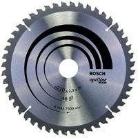 BOSCH OptilineWood pjūklo diskas 210x2 mm T48