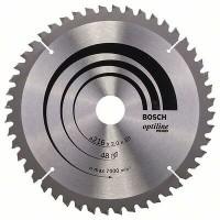 BOSCH OptilineWood pjūklo diskas 216x2 mm T48