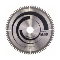 BOSCH MultiMaterial pjūklo diskas 210x2,5 mm T80