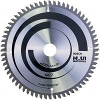 BOSCH MultiMaterial pjūklo diskas 230x2.4 mm T64