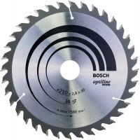 BOSCH OptilineWood pjūklo diskas 210x2.8 mm T36
