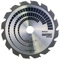 BOSCH ConstructWood pjūklo diskas 230x2,8 mm T16