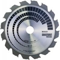 BOSCH ConstructWood pjūklo diskas 235x2,8 mm T16