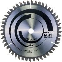BOSCH MultiMaterial pjūklo diskas 184x2.4 mm T48