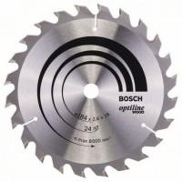BOSCH OptilineWood pjūklo diskas 184x2.6 mm T24