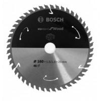 BOSCH Standard for Wood pjūklo diskas 160x1,5 mm T48