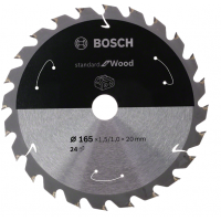BOSCH Standard for Wood pjūklo diskas 165x1,5 mm T36