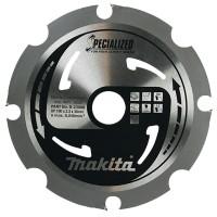Makita FiberCement pjūklo diskas 190x2,3x30 mm T4