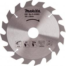 Makita pjovimo diskas medienai 185 mm T16