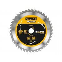 DeWALT pjovimo diskas medienai 165x1.9 mm T42