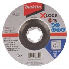 Makita metalo šlifavimo diskas 125x6 mm X-LOCK