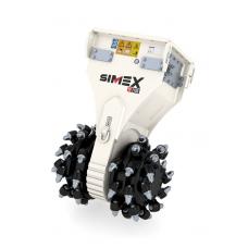 SIMEX TF dvigubos būgninės frezos